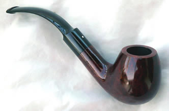 Dunhill Pipe Bruyere 5213 Bent Apple