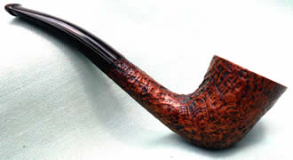 Dunhill Pipe County sandblast finish