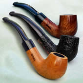 Marca Snug Smoking Pipes - Three finishes