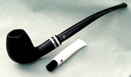 Stanwell Black & White black Satin
