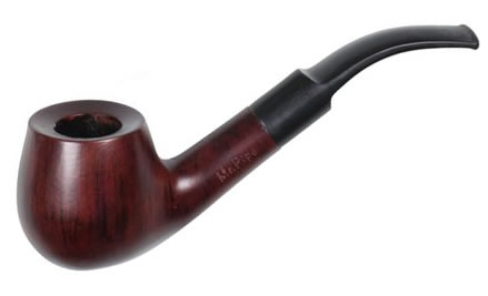 A pipe from the wood of the Jujube tree