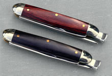 Pipe Knife, Rodgers, Sheffield; Silver, Inlaid wood panels