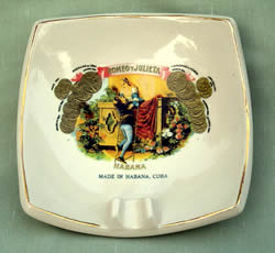 Cigarbrands Ceramic Ashtray Romeo and Juliet
