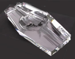 Crystal Cigar Ashtray