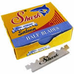 Shark halfblades for Barber razors 10 pack