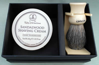 Taylors Sandalwood Shaving Set