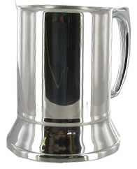 Polished Stainless Steel Tankard