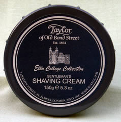 Eton College - Taylor of Bond Street shaving cream in tub
