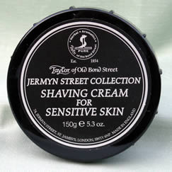 Jermyn Street - Taylor of Bond Street shaving cream in tub