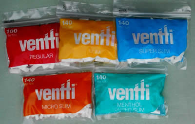 Ventti Filter Tips for RYO cigarettes