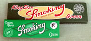 Smoking Green Pure Hemp  Cigarette Papers Kingsize and Regular
