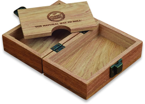RAW Roll Your Own Accessories: Classic Wood Box