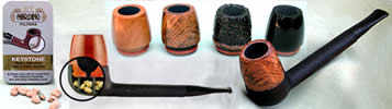 Nording Pipe cross section and bowls
