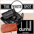 Dunhill White Spot Gentleman's Pipe Companion and tobacco pouch